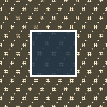 Seamless traditional natural pattern in japanese style Vectores