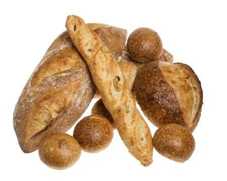 Bread display at market bakery Stock Photo - 13835064