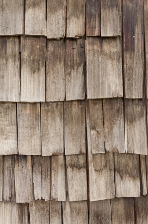 Weathered cedar shake shingles for use as a background photo