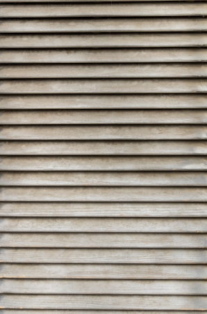 louver boards: Weathered wooden ventilation louvers