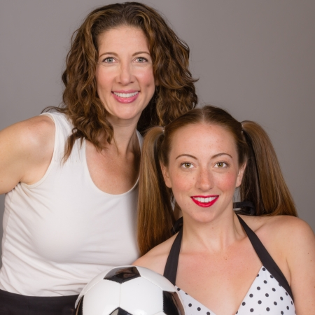 A proud mom and her daughter the soccer player photo