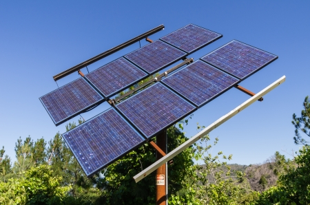 A solar panel to provide electricity in a remote area