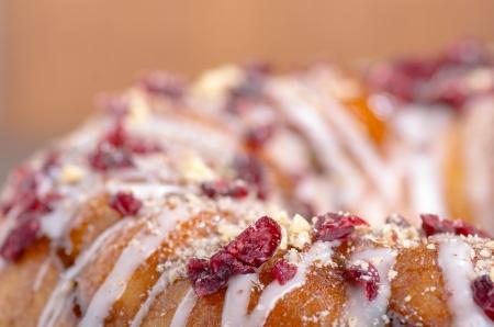 cafe y pastel: Al horno casero avellana ar�ndano pastel de caf�