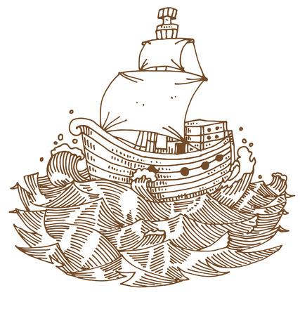 barque: Argosy in the sea