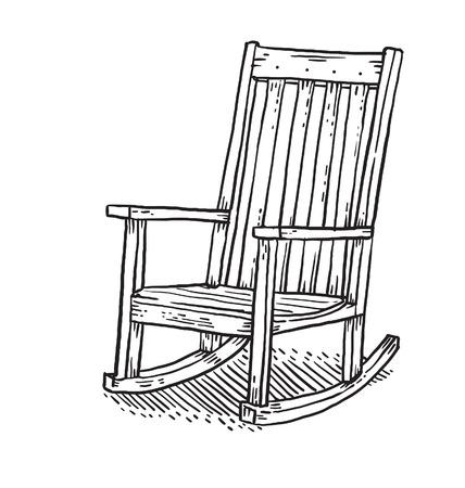 La chaise à bascule