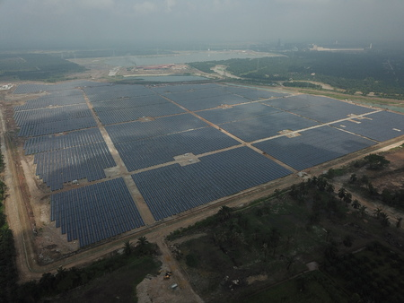 Large-Scale Solar Farm
