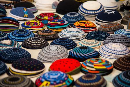 Yarmulke, a Jewish head covering Jewish headdress