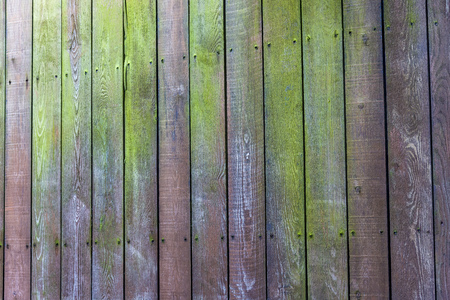 background of old retro vintage aged Wooden texture Old wooden fence.