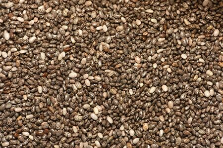 Mixed red, white and black quinoa as an abstract background texture quinoa grains