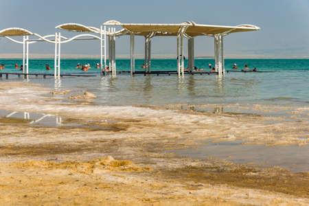 Dead Sea, salt beautiful view Israel