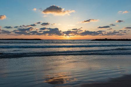 colorful, decoration, sky, multicolored, sun,, sea sunset Banque d'images