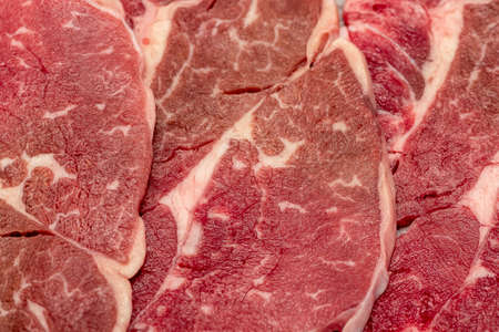 meat steaks background meat structure, Meat texture background.