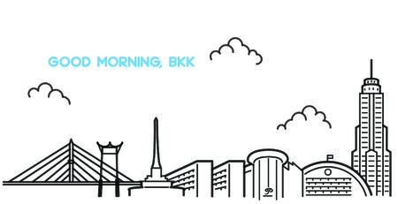 bangkok city: Bangkok in line