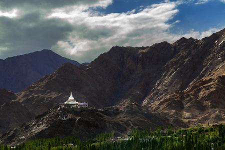 shanti: Shanti stupa in Leh Ladakh