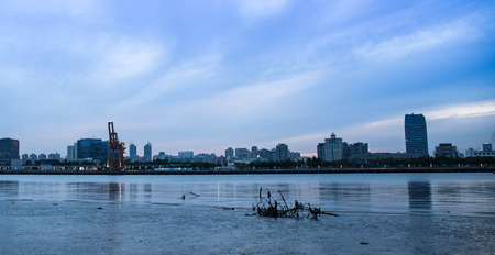 huangpu: Landscape view of scenery at Huangpu River