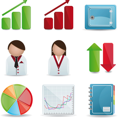 Business & Finance Icons Vector