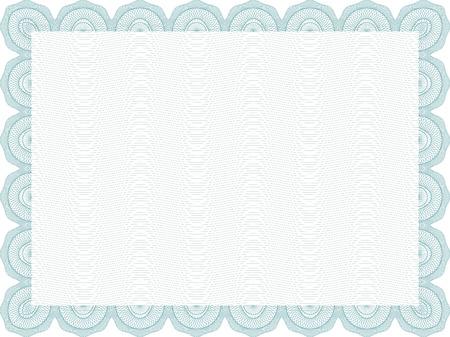 vector secure blank certificate