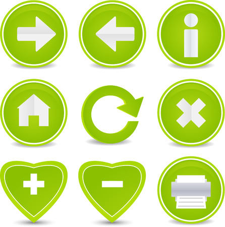Website and Internet set of 9 icons Vector