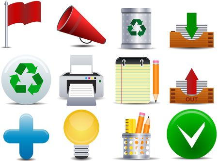 operating system: Office and Business icon set