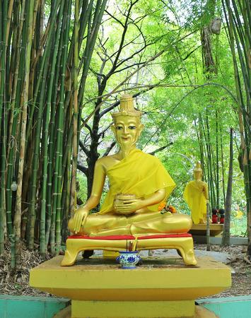 Hermit statue at Wat Tabkloa, Phijit, Thailand