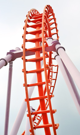 roller: Roller coaster Stock Photo
