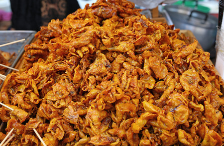 Thai style crispy fried squid
