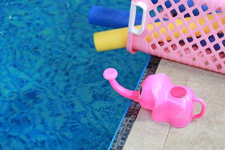 Water aerobic equipment. Reklamní fotografie