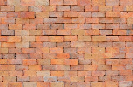 New Brick wall texture background. Retro style.