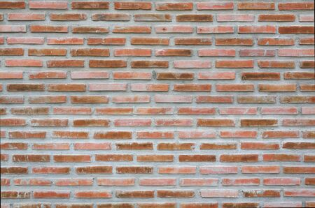 Old style Red brick wall background