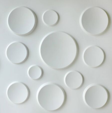 Seamless circles tile pattern Archivio Fotografico