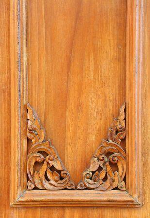 Vintage Thai style wood craft