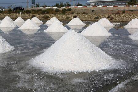 Sea salt farm in Thailand