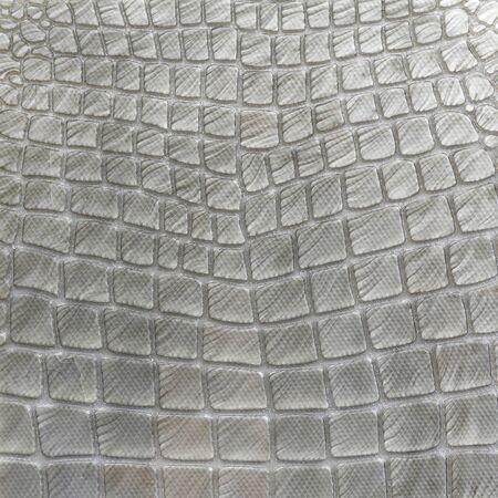 Mosaic mimic the look of a crocodile pattern Stock Photo