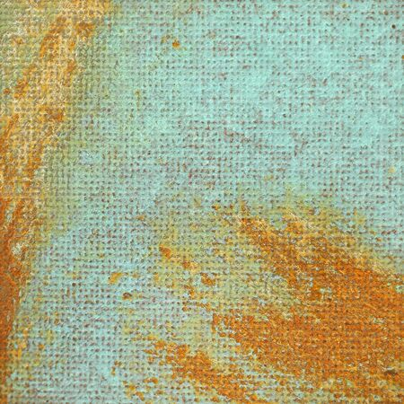 Abstract color rust on metal plate