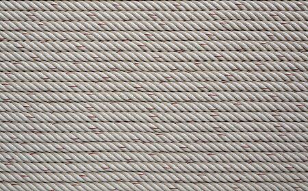 Rope texture background (horizontal lines).
