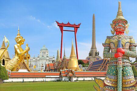 Concept for Thailand travel around Bangkok
