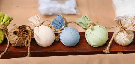 Spa herbal ball Standard-Bild