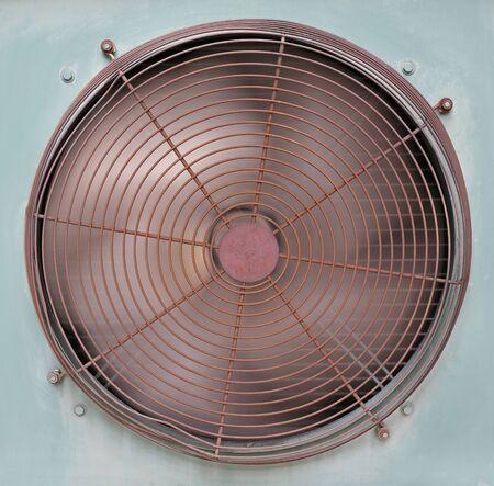 Air Conditioner Ventilation Fan rotating