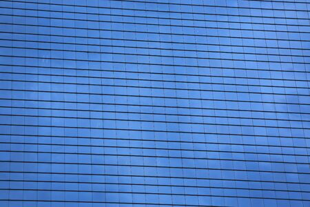 Window glass pattern background exterior of architecture office building.