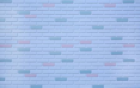 White brick wall with some different color for background