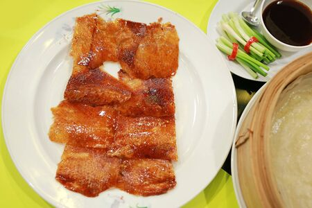 Peking Duck. China's most famous dish. 版權商用圖片