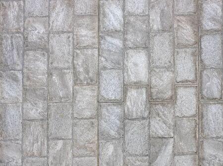 Gray brick wall background. Stock Photo