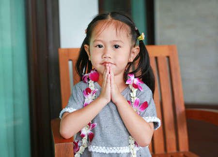 Little Girl Thailand's Respect