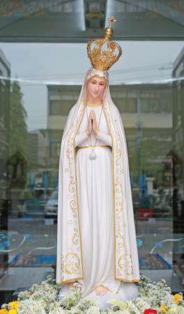 Statues of Holy Women in Roman Catholic Church