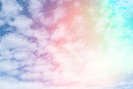 pastel color: pastel color pattern sky with clouds  background