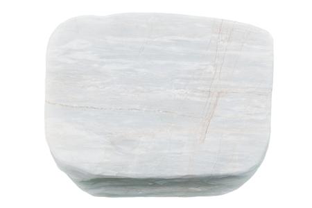 white stones isolated on white background