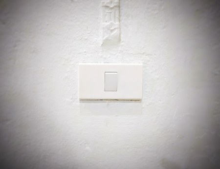 White light switch, turn on or turn off the lights