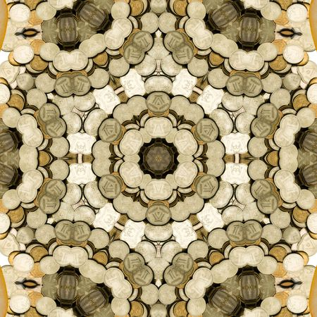 originally: Abstract illustration with money. Design.