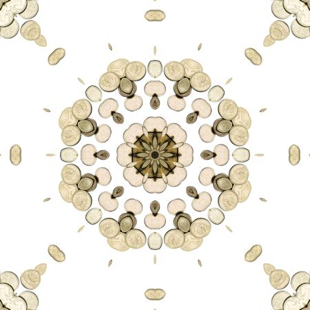 Abstract illustration with money. Design.