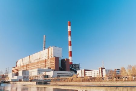 The manufacture of the electric power. Photo. Stock Photo - 2935804